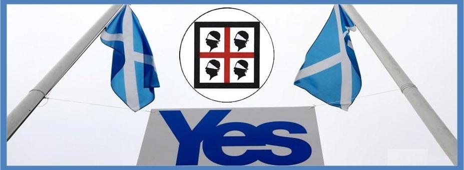 Il PSd'Az in Scozia per il referendum sull'Indipendenza