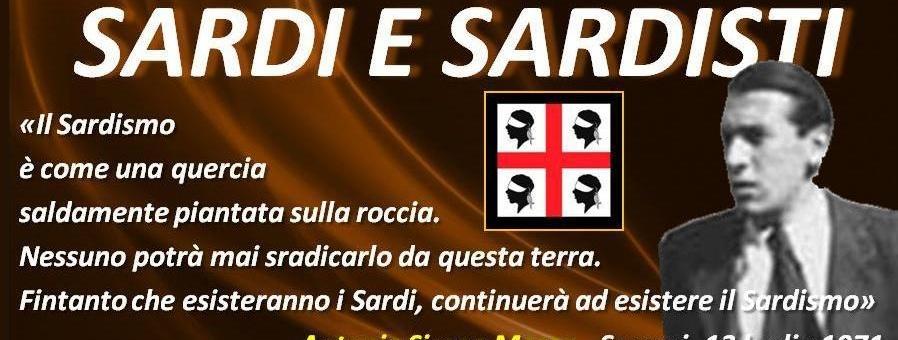 Il Sardismo è come una quercia saldamente piantata sulla roccia...